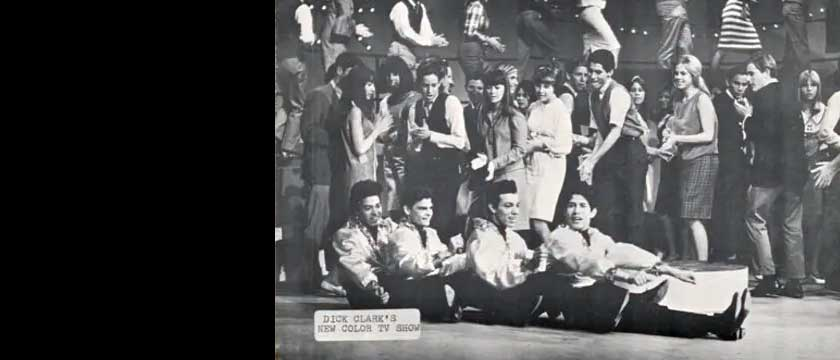 Cannibal & the Headhunters on the Dick Clark Sow